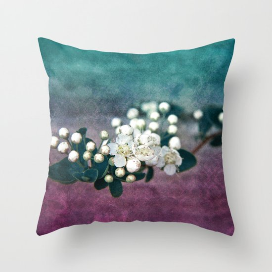 GARDEN TREASURY Throw Pillow