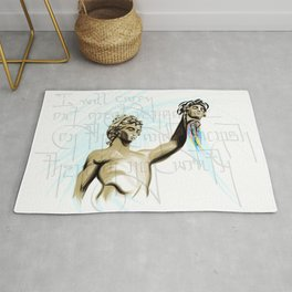 Perseus with the Head of Medusa Rug