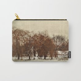 Winter Red Carry-All Pouch