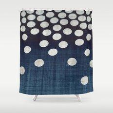Indigo Shower Curtain