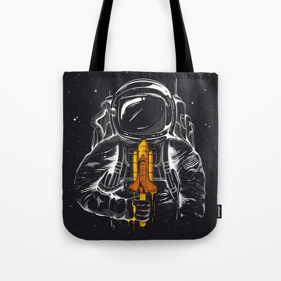 Space Popscicle Tote Bag