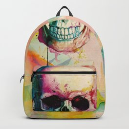 A Happy Skull Backpack