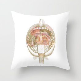 The receiving Room Throw Pillow