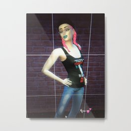 New Mara Autographed Print tshirt and phone case for sale  Metal Print