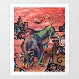 Iron Bull Art Print