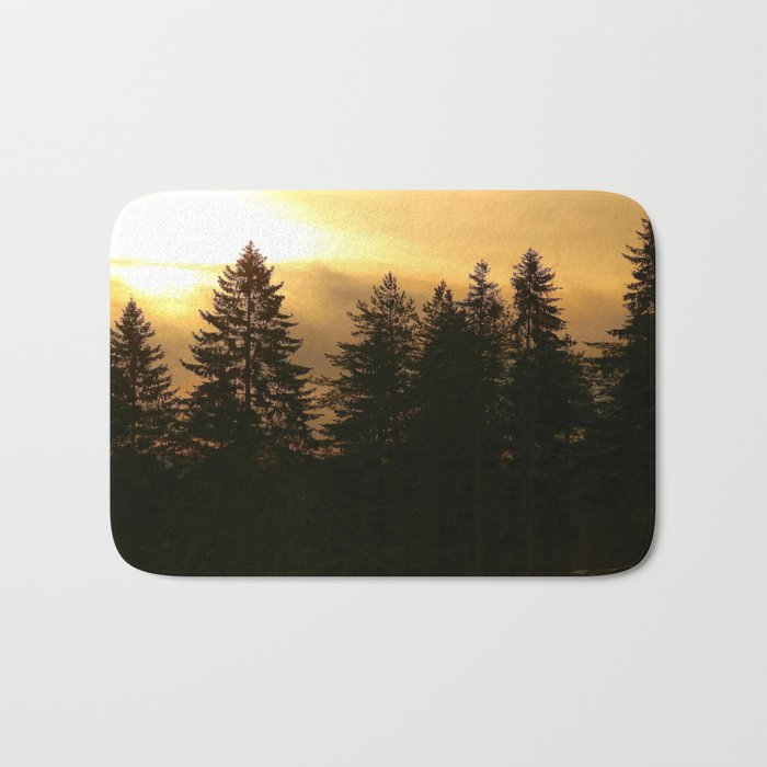 Forest At Morning  Bath Mat