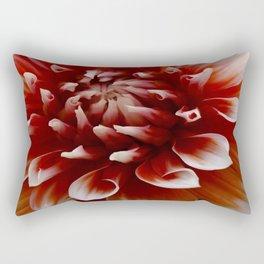 Cognac-Colored Dahlia Rectangular Pillow
