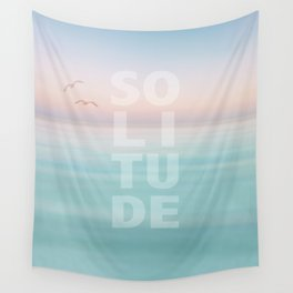 Solitude Calm Waters Wall Tapestry