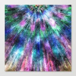 Textured Watercolor Tie Dye Canvas Print