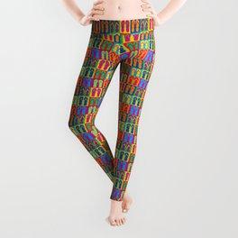 Pop Art Flip Flops Leggings
