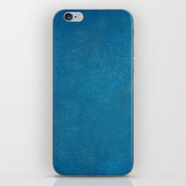 blue_logo iPhone Skin