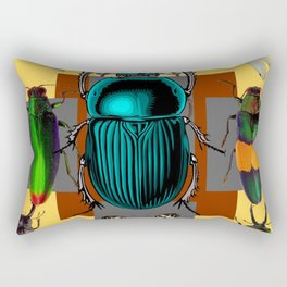 BUGGY INSECT LOVERS ART Rectangular Pillow