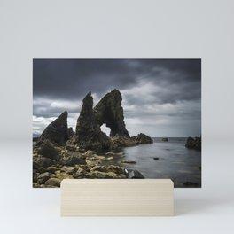 Crohy Head Sea Arch Mini Art Print