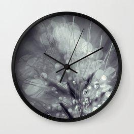 dewy burst Wall Clock