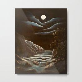 A Midwinter Nights Dream Metal Print
