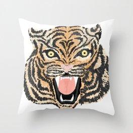 El Tigre Throw Pillow