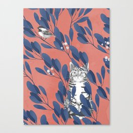 in the wild // repeat pattern Canvas Print