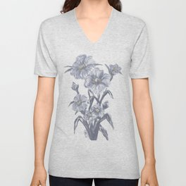 Wildwood Flowers Unisex V-Neck