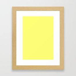 neapolitan yellow Framed Art Print