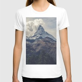Distant Mountain Peak T-shirt