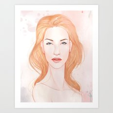 Pink Alice II Art Print