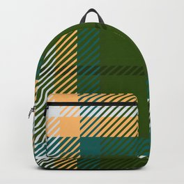 Plaid or tartan Backpack