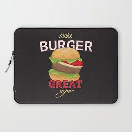 Make Burger great again Laptop Sleeve