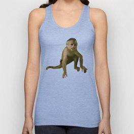 Capuchin Monkey Unisex Tank Top