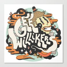 Gee Willikers! Canvas Print