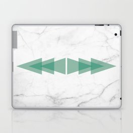 Marble Scandinavian Design Geometric Triangle Laptop & iPad Skin