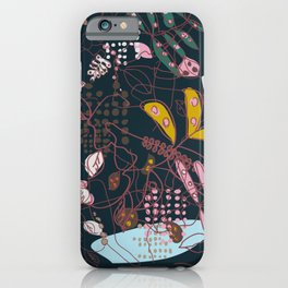 complex and diffuse matter iPhone Case
