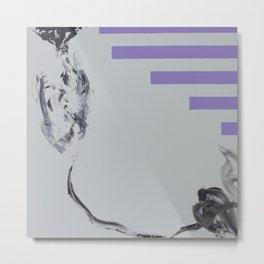 Violent Fish Metal Print