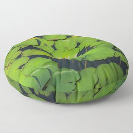 Beautiful Water-Lily Blooming Floor Pillow