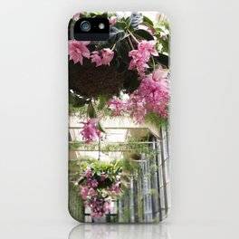 Medinilla Magnifica - botanical photography iPhone Case