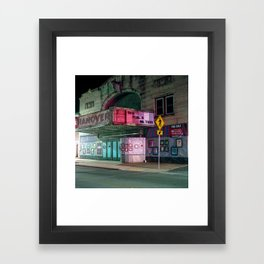 this place matters Framed Art Print