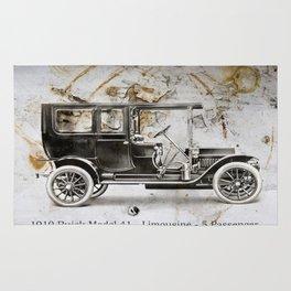 1910 Buick Limousine Rug