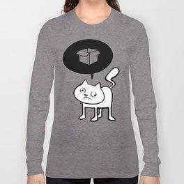minima - derpicat | box Long Sleeve T-shirt