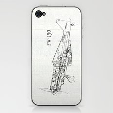 FW - 190 ( B & W) iPhone & iPod Skin