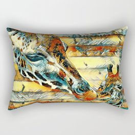 AnimalArt_Giraffe_20170901_by_JAMColorsSpecial Rectangular Pillow
