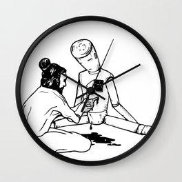 Fixing A Hole Wall Clock
