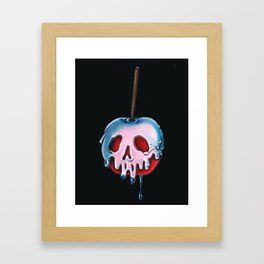 "Disney's Snow White Inspired ""Poisoned Candied Apple"" Framed Art Print"