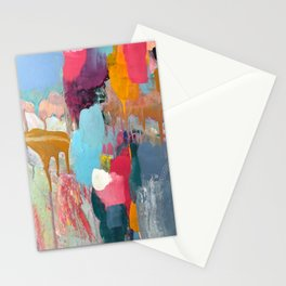 PAINT DRIP SKY Stationery Cards