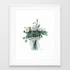 Forest Bouquet Framed Art Print