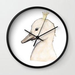 Swan Kid Wall Clock