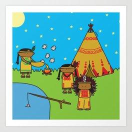 Indians Art Print