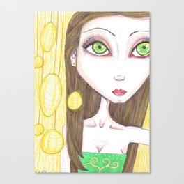 Fairy lanterns Canvas Print