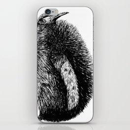 Penguin sketch iPhone Skin
