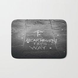 HeartBurn Bath Mat