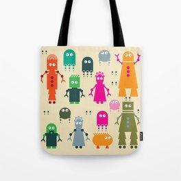 Robots Tote Bag