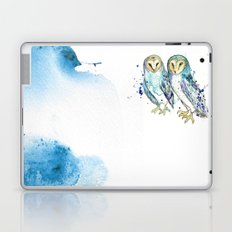 Blue Owls Laptop & iPad Skin